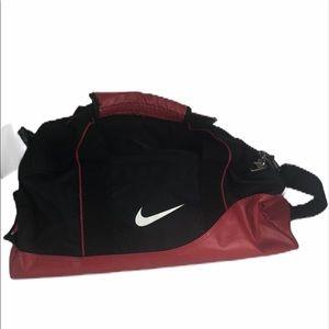 Nike Red Duffel Sports Bag